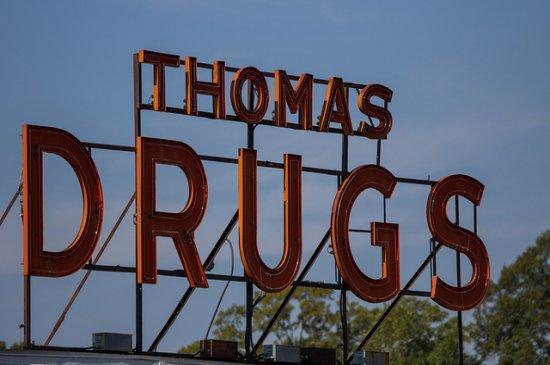 Wilson, North Carolina drug store