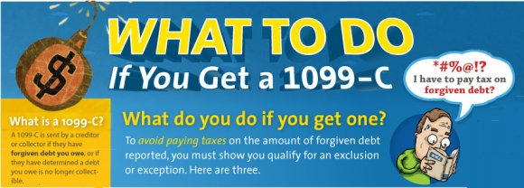 How To Avoid Getting Stuck With Taxes For Debts Cleared In