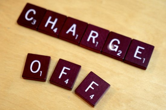 Charge off debt