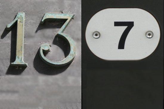 13 to 7