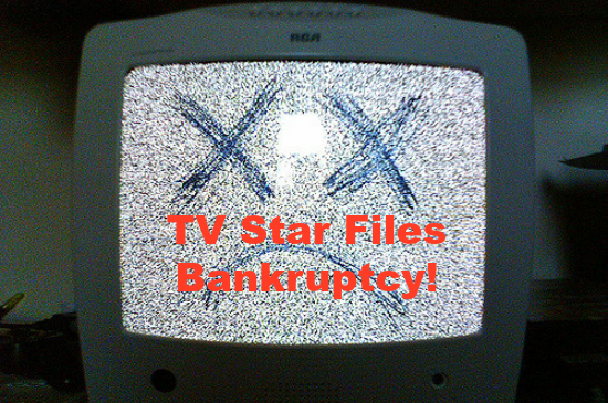 TV star bankruptcy