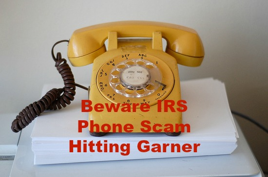 Garner phone scam
