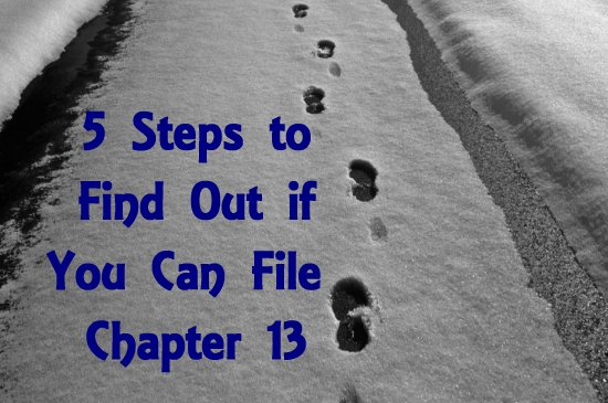 Steps to Chapter 13
