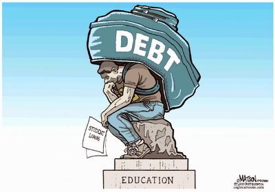 Statue of debt