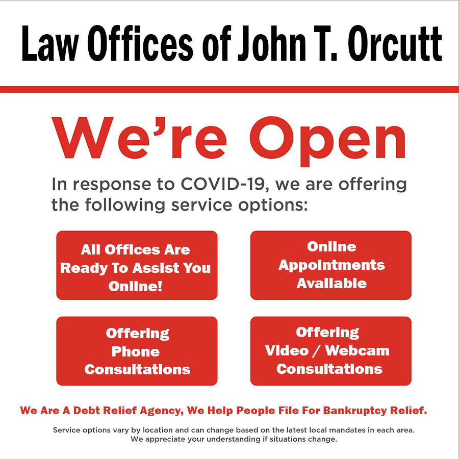 Law Office of John T. Orcutt COVID-19 Update