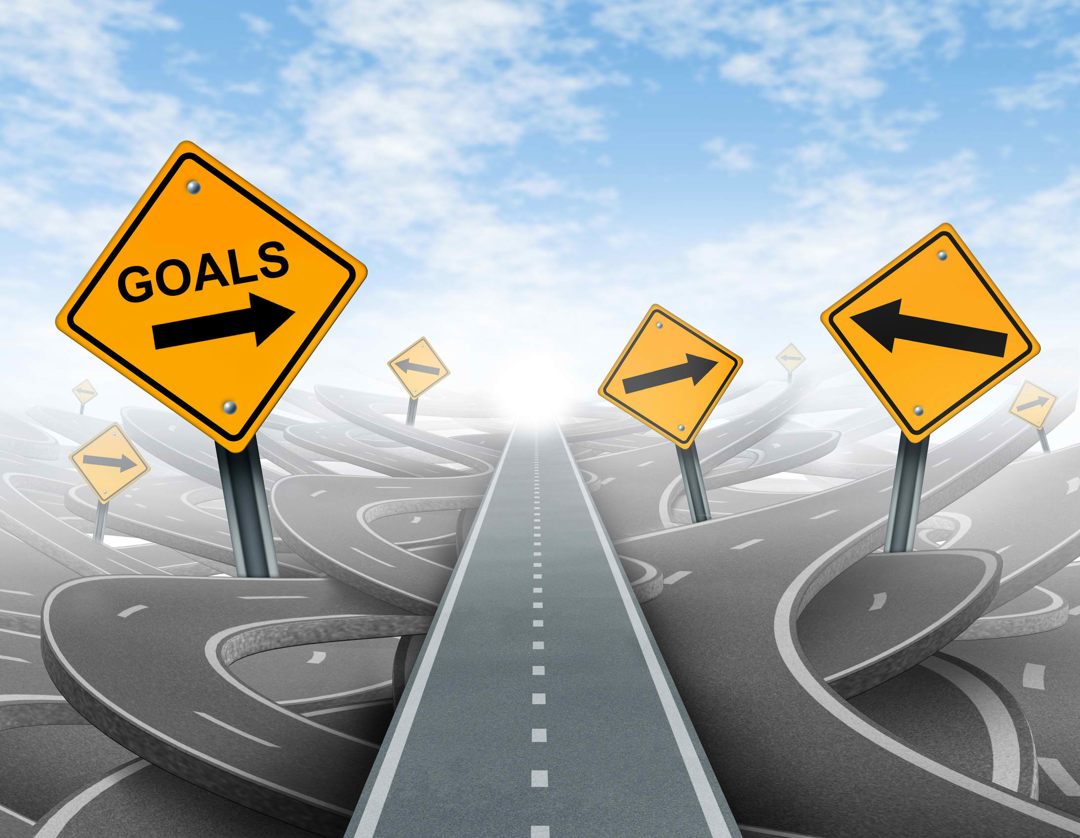 Set goals after bankruptcy