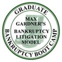 Max Gardner Bankruptcy