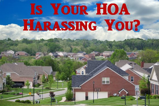HOA harassment