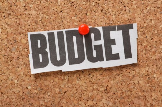 Making a budget is critical
