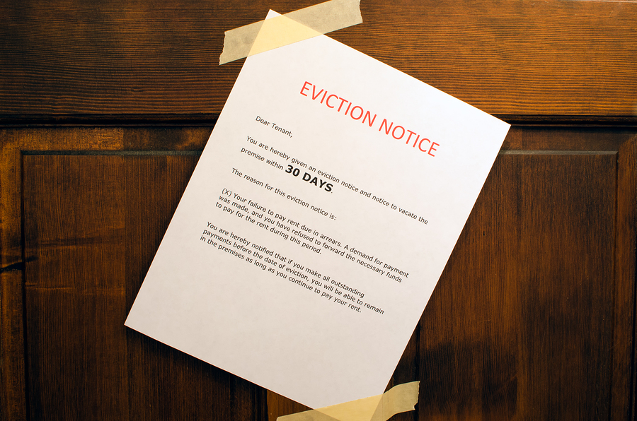 Bankruptcy and eviction