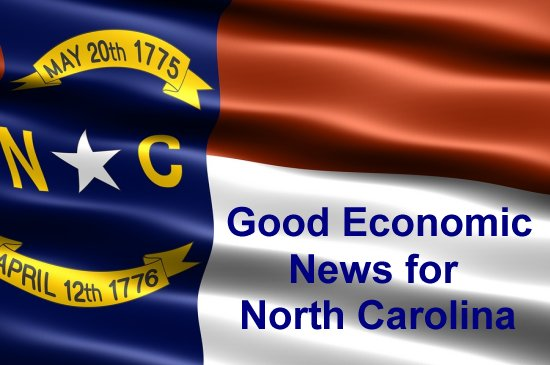 North Carolina's economy is thriving