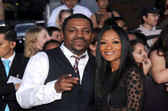 Mekhi Phifer and wife