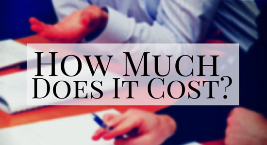 How much does bankruptcy cost at the Law Offices of John T. Orcutt
