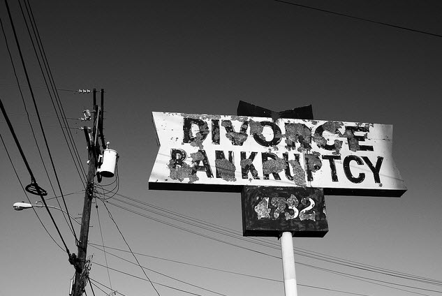 Divorce property settlement