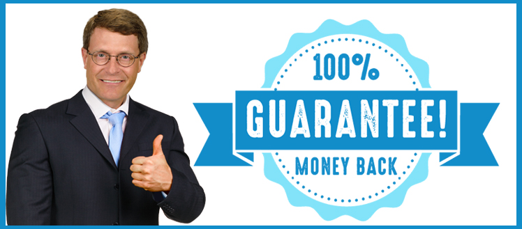 Law Offices of John T. Orcutt Money Back Guarantee