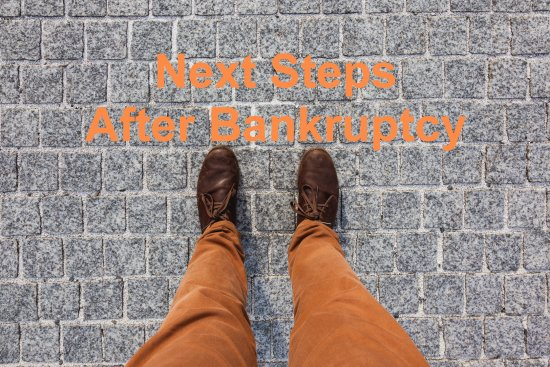 Bankruptcy next steps