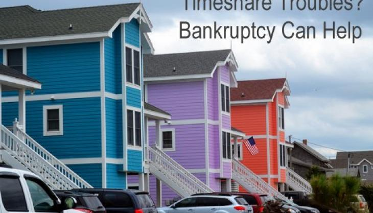 How Are Timeshares Handled in North Carolina Bankruptcy?