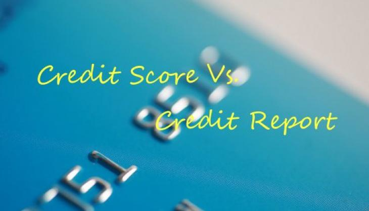 What's The Difference Between a Credit Score and a Credit Report