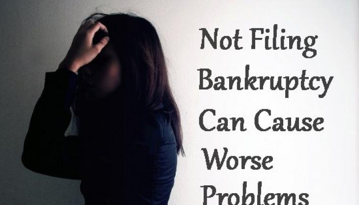 5 Ways Not Filing Bankruptcy Can Hurt You if You're Deep in Debt You Can't Pay