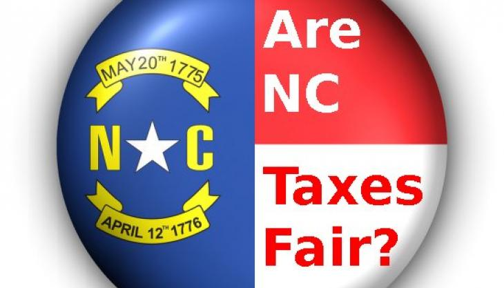 New Study Shows in North Carolina, Rich Pay Less in Taxes Than Poor