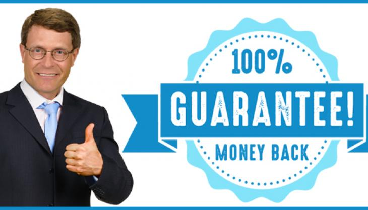 FOR THE FIRST TIME......BANKRUPTCY WITH A MONEY-BACK GUARANTEE